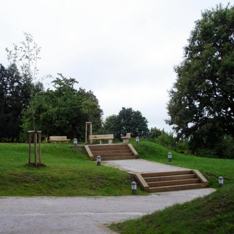 Rekonstrukce parku Gothart - Hořice
