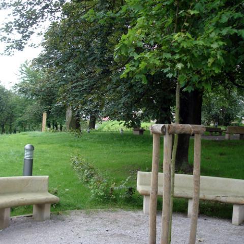 Rekonstrukce parku Gothart - Hořice 2