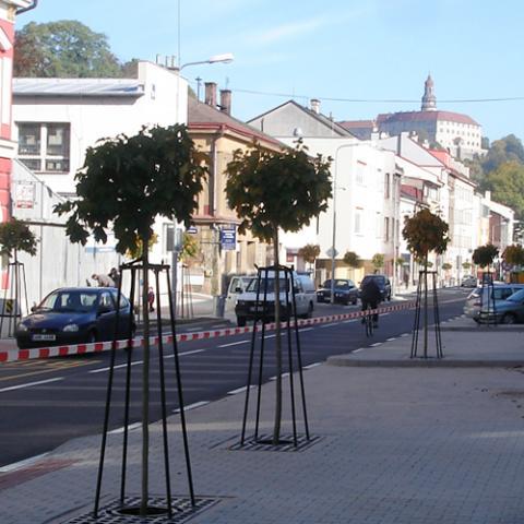 Parkové úpravy - Náchod (Komenskeho ulice) 2