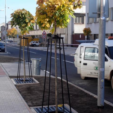 Parkové úpravy - Náchod (Komenskeho ulice) 3