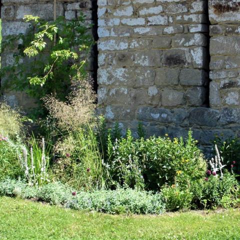 Úprava zahrady - záhony v přírodním stylu
